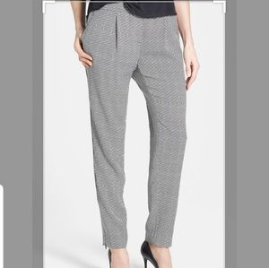 Halogen Zip Ankle Twill Pull-on Pants S